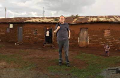 Programme Coordinator Michael at Langas informal settlement